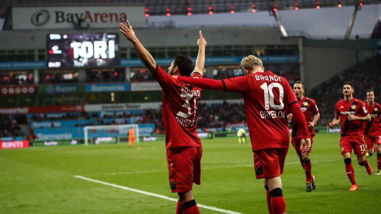 Der Videobeweis sorgte beim Spiel Leverkusen gegen Köln für Verwirrung