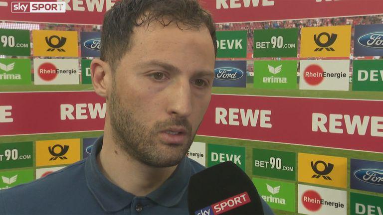 Schalke-Trainer Domenico Tedesco war nach der Partie sichtlich angefressen.