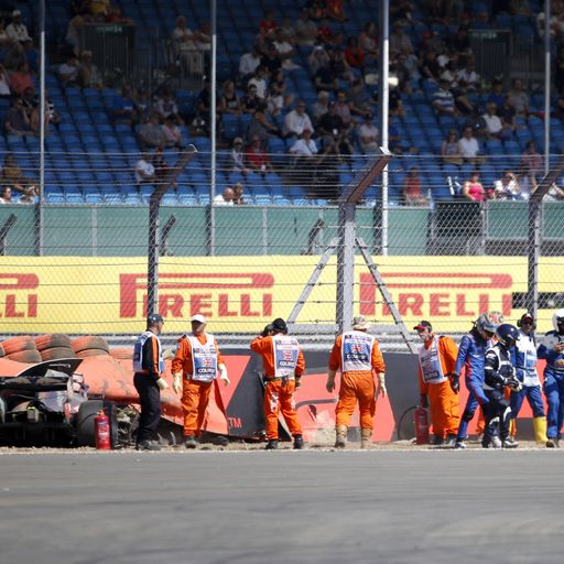 Silverstone: Highspeed-Crash von Hartley - Nacken bremst Vettel