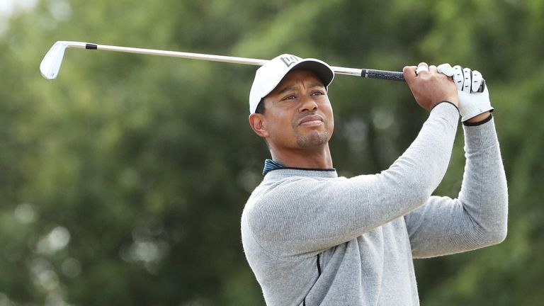Tiger Woods startet bei The Open 2018.