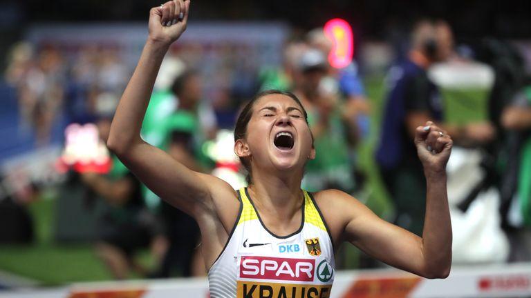 Krause holt am Finaltag das nächste Gold für Deutschland.