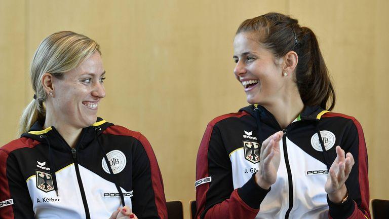 Angelique Kerber und Julia Görges dürfen sich über ihre Platzierungen in der Weltrangliste freuen - sie sind beide unter den besten 14.