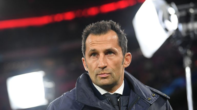 Hasan Salihamidzic kommt in seiner Sportdirektoren-Rolle in der Öffentlichkeit selten zum Zug.