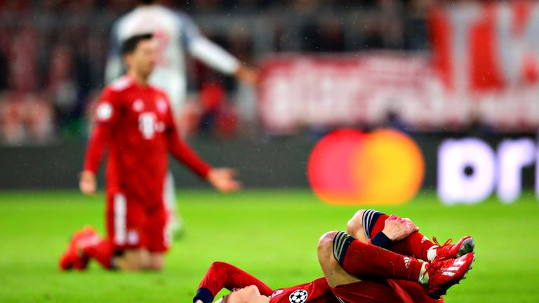 Der FC Bayern scheitert in der Champions League bereits im Achtelfinale.