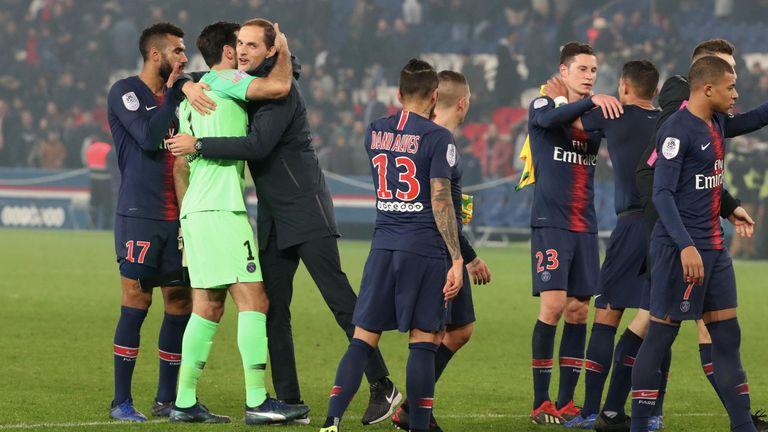 Thomas Tuchel und Paris Saint-Germain sind französischer Meister.