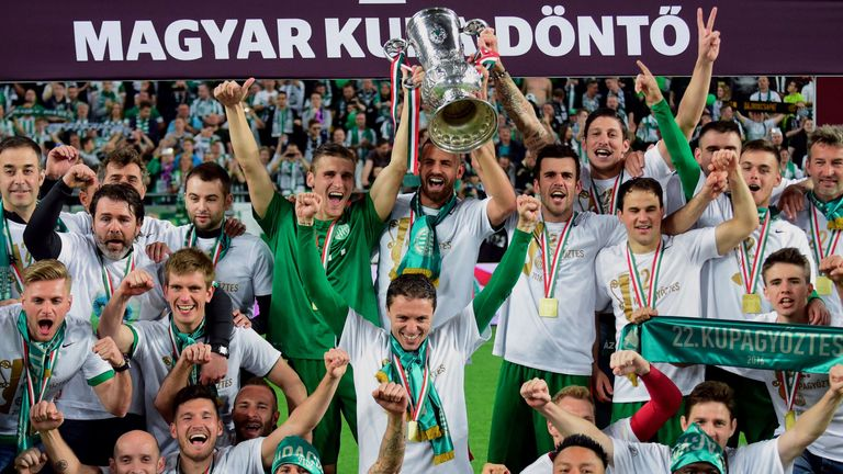 Auch die ungarische Hauptstadt Budapest spielt mit vier Teams in der höchsten Liga des Landes: Ferencvaros Budapest, Honved, Ujpest und MTK Budapest.