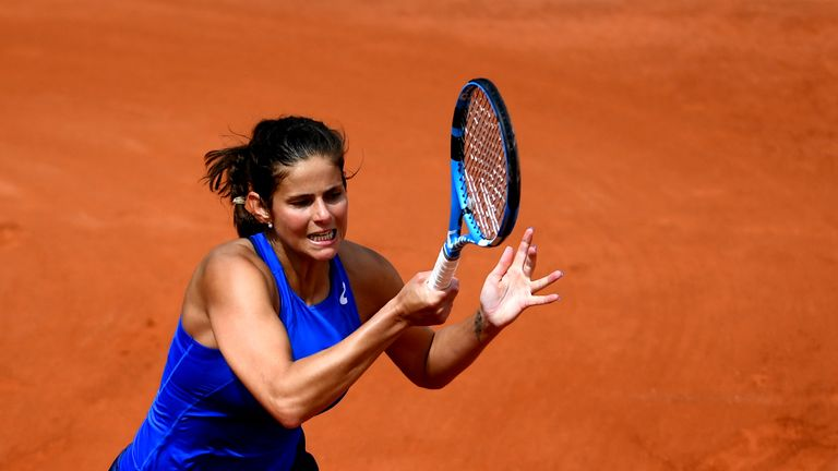 Julia Görges scheitert bei den French Open in Runde eins.