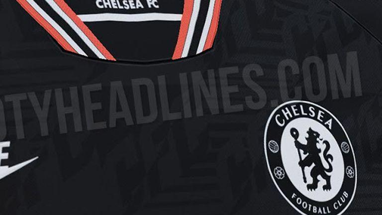 Die Blues in Black! Das neue dritte Trikot von Europa-League-Gewinner FC Chelsea wurde geleakt (Quelle: footyheadlines.com).