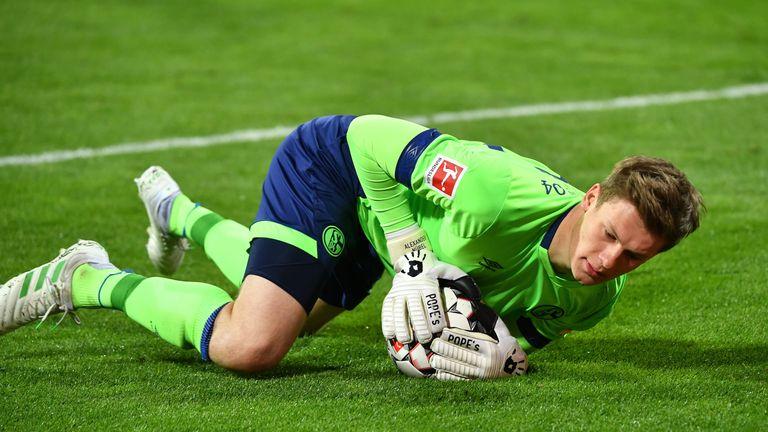 Schalke-Keeper Alexander Nübel spielte sich mit glänzenden Leistungen in den Fokus.