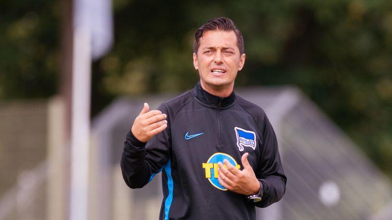 Ante Covic siegt mit der Hertha gegen Braunschweig.