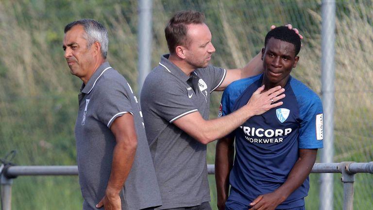 Jordi Osei-Tutu wurde im Testspiel gegen den FC St. Gallen offenbar rassistisch beleidigt.
