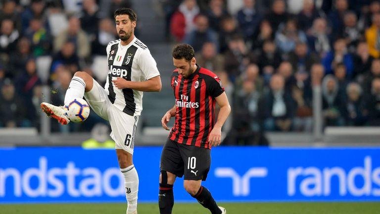 Sami Khedira spielt seit 2015 für Juventus Turin.