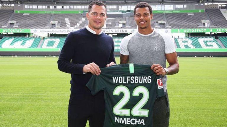 Lukas Nmecha trägt nächste Saison das Trikot des VfL-Wolfsburg. (Quelle: twitter.com/VfL_Wolfsburg)