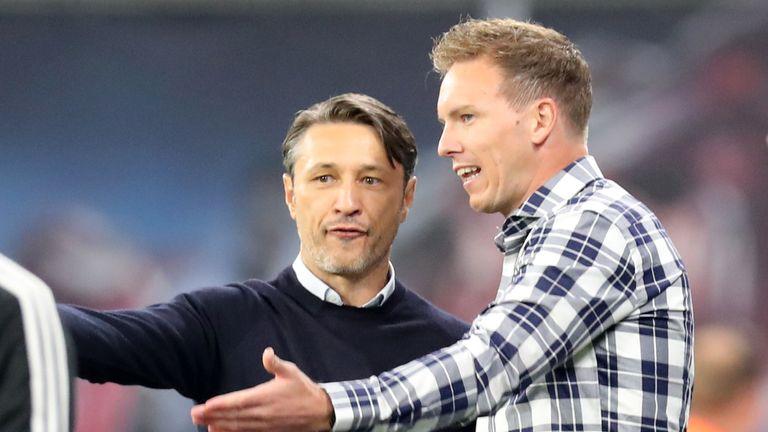 Julian Nagelsmann (r.) und Niko Kovac (l.) trennen sich mit ihren Mannschaften remis.
