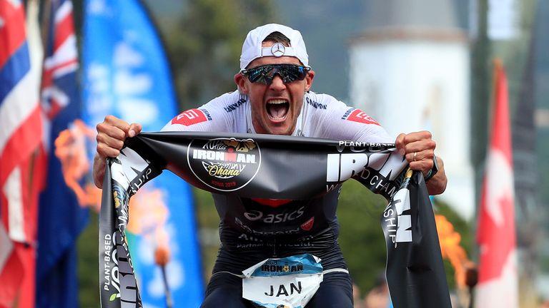 In Rekordzeit zu dritten Titel: Jan Frodeno siegt bei der Ironman-WM auf Hawaii.