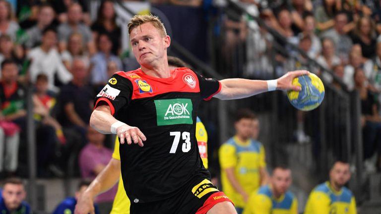 Für Rechtsaußen Timo Kastening wird es ein Heimspiel am 26. Oktober in Hannover. Der 24-Jährige hat bisher drei Partien für die Nationalmannschaft bestritten.