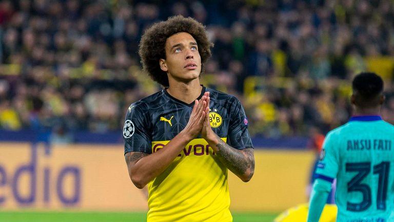 Axel Witsel und Borussia Dortmund sind am letzten Spieltag der Gruppenphase auf Schützenhilfe vom FC Barcelona angewiesen.
