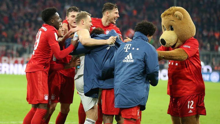 Der FC Bayern gewann alle fünf Spiele der Champions-League-Gruppenphase.