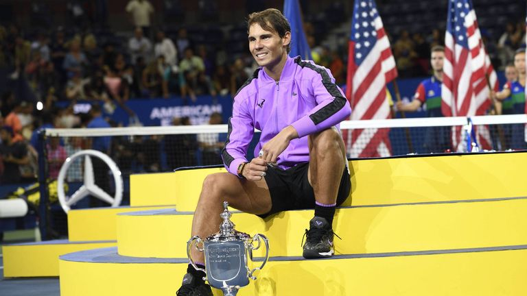 Rafael Nadal triumphiert bei den US Open in New York.