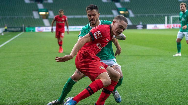 Feierte mit 17 Jahren sein Debüt in der Bundesliga: Leverkusens Youngster Florian Wirtz.