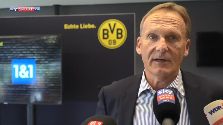 BVB-Boss Hans-Joachim Watzke spricht über diverse Themen.