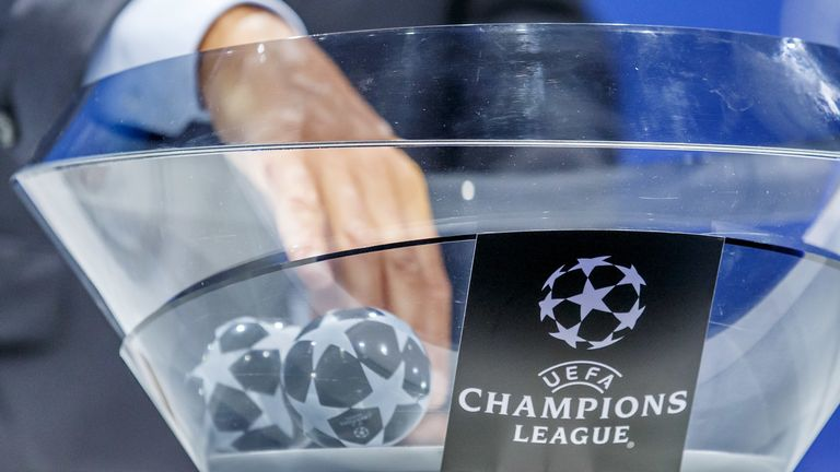Champions League Auslosung.