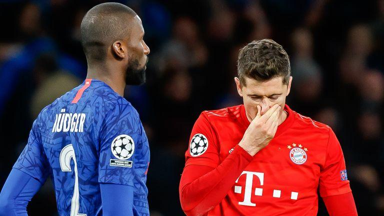 Der FC Bayern will am Samstag den Einzug ins CL-Viertelfinale perfekt machen.