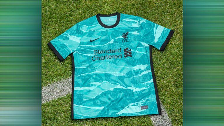 Das ist das neue Auswärtstrikot des FC Liverpool. (Quelle: liverpoolfc.com)