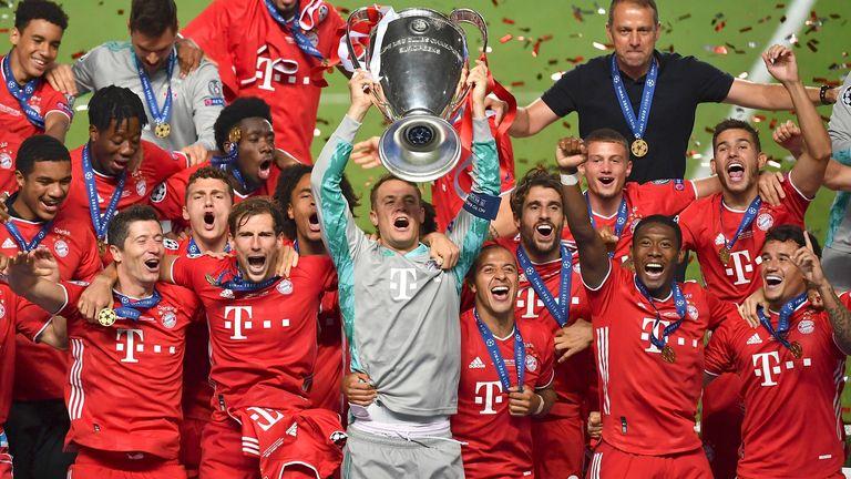 Die Bayern dominierten die Champions League 2020. Die Flick-Truppe gewann sämtliche Spiele - das gab es noch nie.