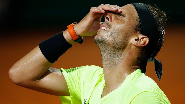 Rafael Nadal scheitert in Rom an Diego Schwartzmann.