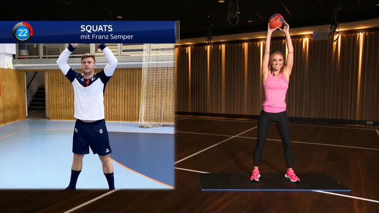 SkyGym: Handball Workout