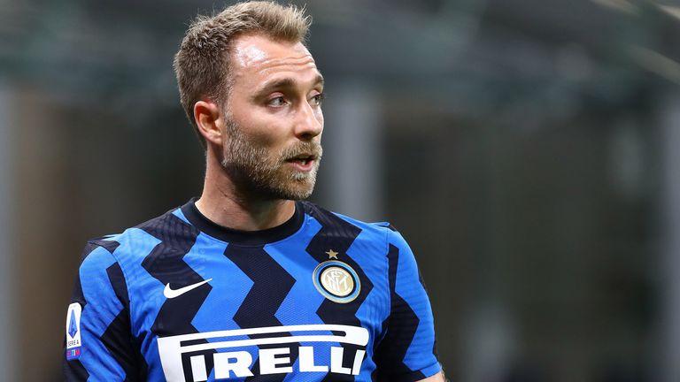 Christian Eriksen spielt bei Inter Mailand keine große Rolle.
