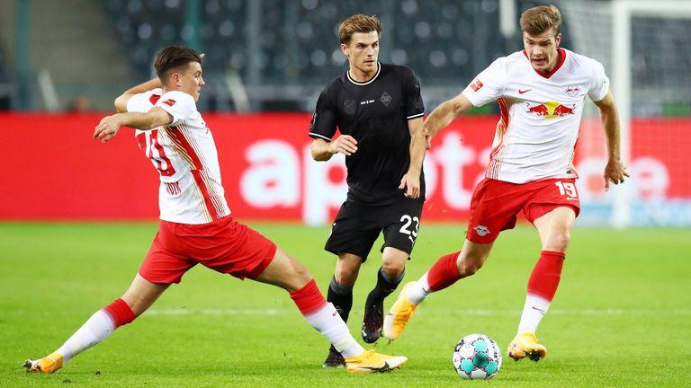 Die RB-Neuzugänge um Alexander Sörloth (r.) und Lazar Samardzic (l.) konnten bislang noch nicht glänzen.