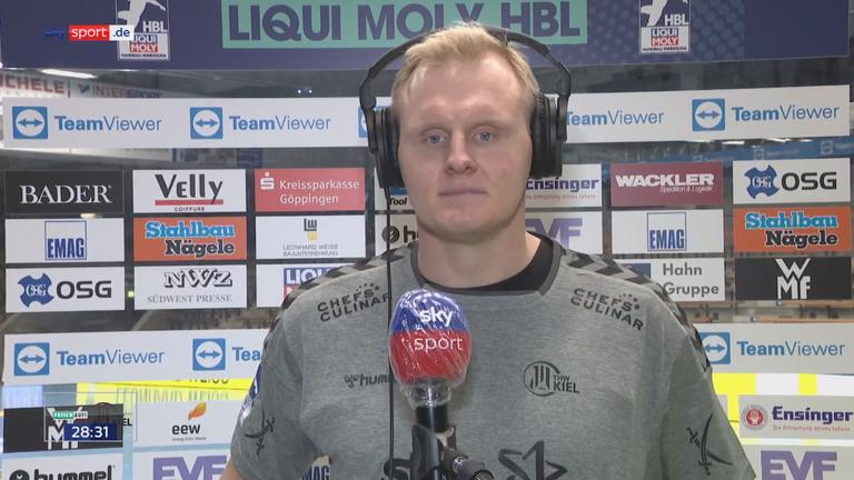 Patrick Wiencek zum Spiel gegen Göppingen: ''Das war ein Moralsieg.''