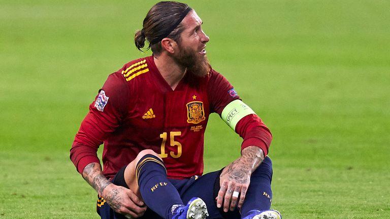 Sergio Ramos hatte sich im Spiel gegen Deutschland verletzt.