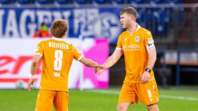 Bielefeld: Ritsu Doan (4 Torbeteiligungen/ 2 Tore/ 2 Assists) und Fabian Klos (3 Torbeteiligungen/ 2 Tore/ 1 Assist)