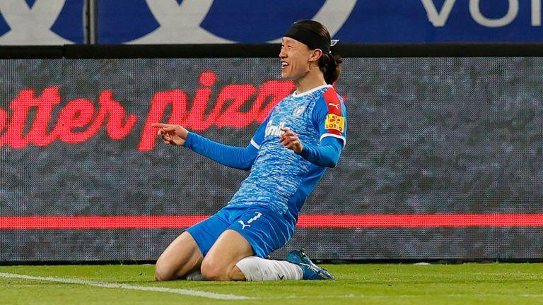 Jae-Sung Lee steht vor einem Wechsel von Holstein Kiel zur TSG Hoffenheim.