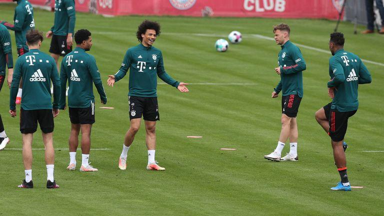 Der FC Bayern befindet sich aktuell im Quarantäne-Trainingslager.