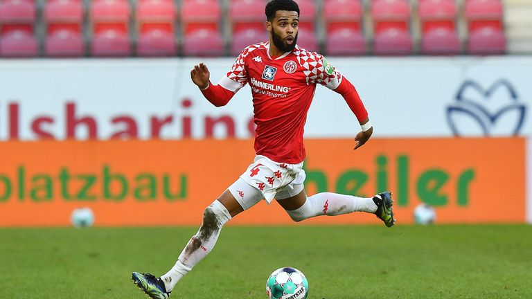 Platz 1: Jeremiah St. Juste (FSV Mainz 05), Top-Speed: 36,1 km/h