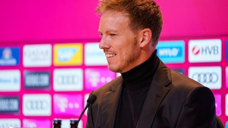 Sky zeigt ausgewählte Pressekonferenzen - u.a. mit Bayern-Trainer Julian Nagelsmann.