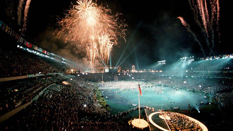 Stätte der Olympischen Spiele.
