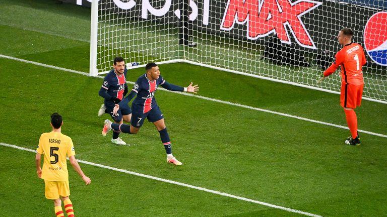KYLIAN MBAPPE (Paris Saint-Germain): Vier Tore in zwei Spielen.