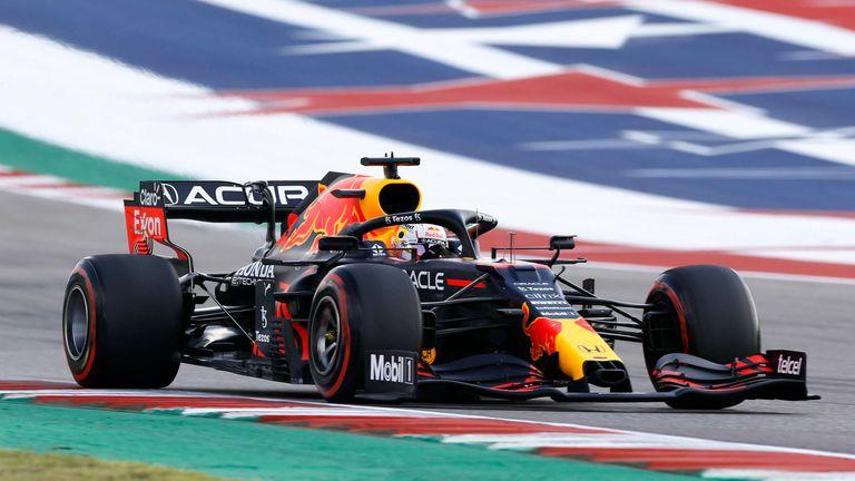 Max Verstappen schnappt sich die Pole Position in Austin.